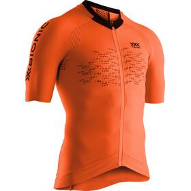 X-Bionic The Trick G2 Maglietta da ciclismo a maniche corte con zip Uomo, arancione